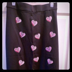Torrid ponte skirt by Rebel Wilson 2x